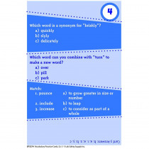EP-3374 - Brain Blasters Vocabulary Practice Cards Gr 5 in Vocabulary Skills