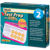 EP-3440 - Math Test Prep In A Flash Gr 2 in Math