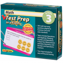EP-3441 - Math Test Prep In A Flash Gr 3 in Math