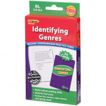 EP-3459 - Identifying Genres Reading 5.0-6.5 Comprehension Cards Green Level in Reading Skills