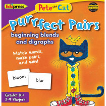 EP-3533 - Pete The Cat Purrfect Pairs Game Beginning Blends And Digraphs in Language Arts