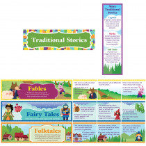EP-3577 - Fairy Tales Folktales And Fables Mini Bulletin Board Set in Language Arts