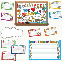 EP-360 - We Love School Bulletin Board Set in Miscellaneous