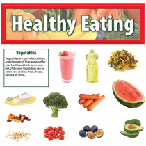 EP-3610 - Healthy Eating Mini Bulletin Board Set in Science
