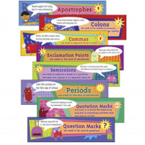 EP-3617 - Punctuation Mini Bulletin Board Set in Language Arts