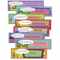 EP-3618 - Parts Of Speech Mini Bulletin Board Set in Language Arts