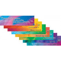 EP-3620 - Mini Bulletin Board Set Notable Women in Holiday/seasonal