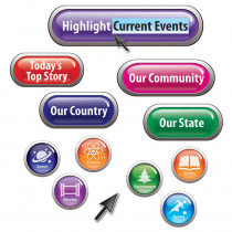 EP-3640 - Highlight Current Events Mini Bulletin Board Set in Social Studies