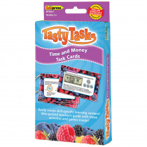 EP-3657 - Math Tasty Task Cards Time & Money in Money