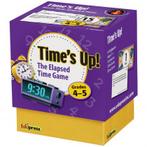 EP-3756 - Times Up Elapsed Time Game Gr 4-5 in Math