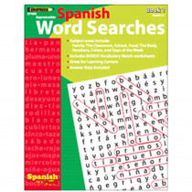 EP-460 - Spanish In A Flash Word Searches 1 in Language Arts