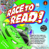 EP-LRN221 - Race To Read Game Reading Levels 5.0-6.5 in Language Arts
