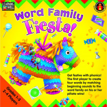 EP-LRN272 - Word Family Fiesta 2-3 Letter Word Families in Language Arts