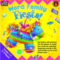 EP-LRN273 - Word Family Fiesta 3-4 Letter Word Families in Language Arts