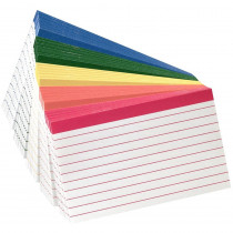 ESS04754 - Oxford Color-Coded Index Cards 4X6 in Index Cards