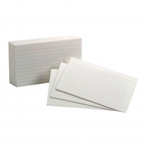 ESS40153SP - Oxford Index Cards 3X5 Ruled White 100 Per Pack in Index Cards