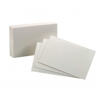 ESS40156SP - Oxford Index Cards 4X6 Plain White 100 Per Pack in Index Cards