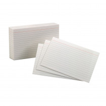 ESS40159SP - Oxford Index Cards 4X6 Ruled White 100 Per Pack in Index Cards