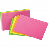 ESS40279 - Oxford Glow Index Cards 3X5 in Index Cards