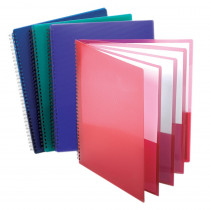 ESS5740404 - Oxford 8 Pocket Organizer Assorted Cover Colors in Folders