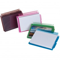 ESS73138 - View Front Spiral Index Cards 3X5 Poly Cover in Index Cards