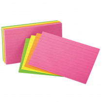 ESS99755 - Oxford Glow Index Cards 4 X 6 in Index Cards