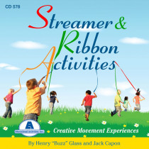 ETACD578 - Streamer And Ribbons Activity Cd in Cds