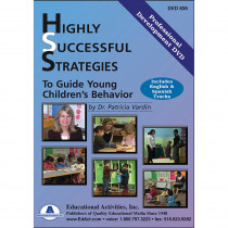 ETADVD835 - Highly Success Strategies To Guide Young Childrens Behavior in Dvd & Vhs
