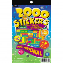 EU-609411 - 2000 Motivational Sticker Book in Motivational