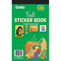 EU-60952 - Sticker Book Fall 528/Pk in Holiday/seasonal