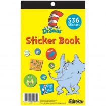 EU-609720 - Dr Seuss Sticker Book in Stickers