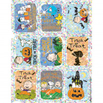 EU-623501 - Peanuts Halloween Sparkle Stickers in Holiday/seasonal