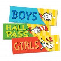 EU-642015 - Dr Seuss Classic Hall Passes in Hall Passes
