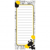 EU-643615 - Peanuts Touch Of Class Note Pads 3.5X8.5 Inch in Note Books & Pads