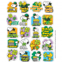 EU-655059 - Peanuts St. Patricks Theme Stickers in Stickers