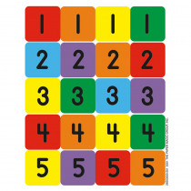 EU-65505 - Numbers 1-100 Assortment in Stickers