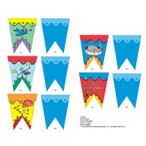EU-822203 - Dr Seuss - If I Ran The Circus Pennant Banner in Banners