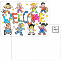 EU-831912 - Star Students Welcome Teacher Cards in Postcards & Pads
