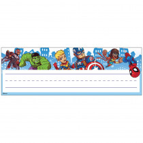 EU-833071 - Marvel Super Hero Adventure Name Plates Self Adhesive in Name Plates