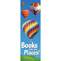 EU-834212 - Books Take You Places Bookmarks in Bookmarks
