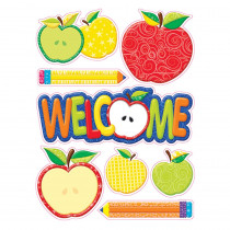 EU-836069 - Color My World Welcome Window Clings in Window Clings
