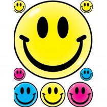 EU-83624 - Window Cling Smile Faces 12 X 17 in Window Clings