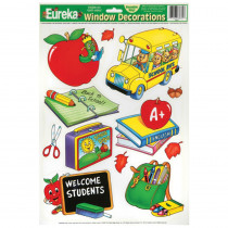 EU-83631 - Window Cling Welcome Students 12X17 in Window Clings