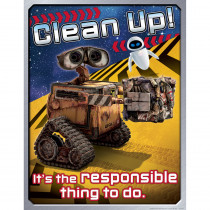EU-837006 - Wall-E Clean Up 17X22 Poster in Classroom Theme
