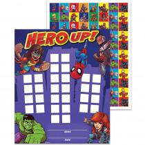 EU-837018 - Marvel Super Hero Adventure Mini Reward Charts With Stickers in Classroom Theme