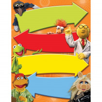 EU-837100 - Muppets - Blank Arrow Chart 17 X 22 Poster in Classroom Theme