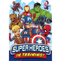 EU-837116 - Marvel Super Hero Trng Poster 13X19 in Classroom Theme