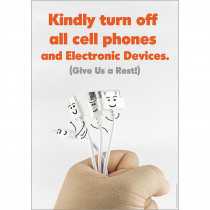 EU-837133 - Kindly Turn Off Phones Posters 13X19 in Miscellaneous