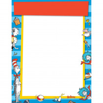 EU-837237 - Dr Seuss Standard Welcome Blank Chart in Classroom Theme