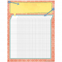 EU-837361 - Confetti Splash Grid Chart in Classroom Theme